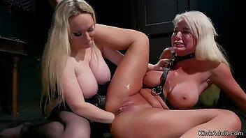 Hot Lesbian Asses Get Anal Training