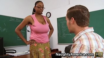 Glasses Black Interracial Shaved