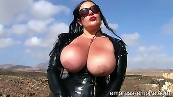 CBT Outdoor Latex Fetish