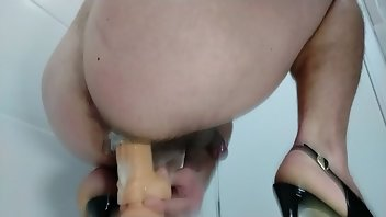 Shoejob Anal Cumshot Ass High Heels