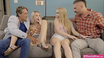 Foursome Teen Blonde Group Sex