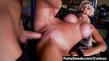Swedish Cumshot Facial Blonde