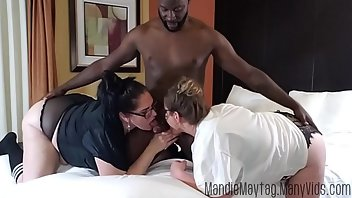 Gaping Interracial Ass MILF