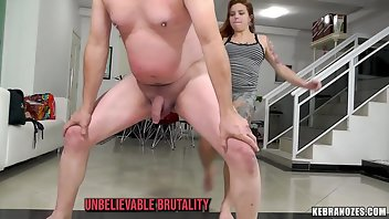 Ballbusting Latina Submissive Domination