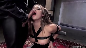 Bound Hardcore Blowjob Rough