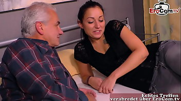 Ugly Teen Amateur Grandpa