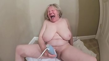 Boots Cum Mature Masturbation